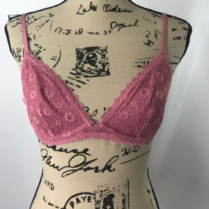Victoria's Secret Unlined Sexy Lace Pink Bra
